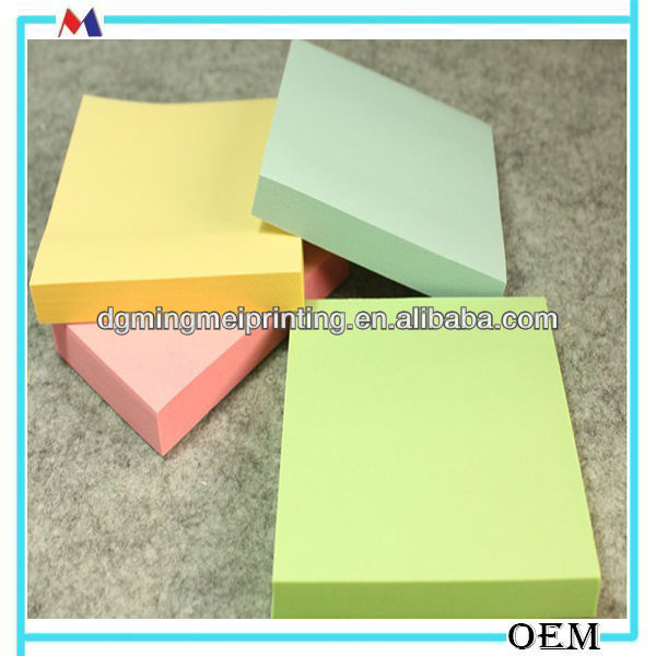 Ordinary paper memo/pocket notepads/cheap sticky notes