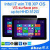 Bben Affordable offer tablet vs Microsoft Surface Pro 3 128GB Windows7/ 8.1 UBUNTU Linux Pro Intel i7 Tablet.