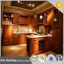 Oak Solid Wood Kitchen Cabinets Kitchen Furniture Guangzhou