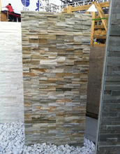 Natural slate stone veneer exterior wall tiles cladding