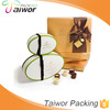Fashion High Quality Food Grade Chocolate Box With Paper Tray
