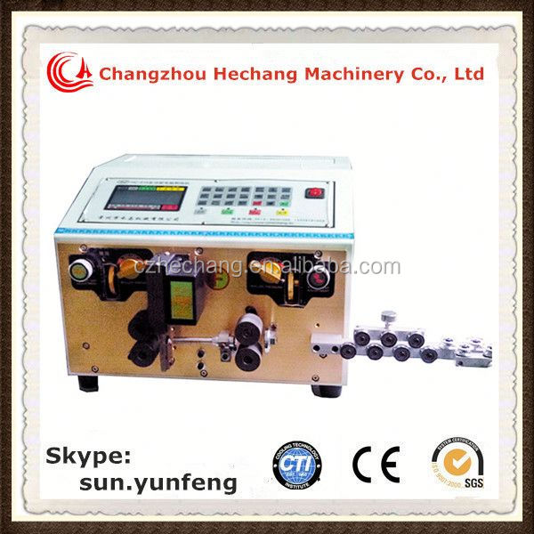 2014 Hot Sales High Quality automotive wire stripping and cutting machine for jacket wires