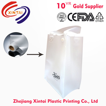 China transparent EVA film for gift bag