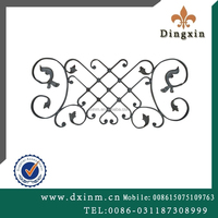 Gates and iron fence designs used wrought iron fencing for sale fence railing parts
