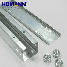 Good Quality Galvanized Steel Compartment Cable Trunking 2 Channel Cable Tray