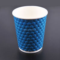 hot natural paper drinking cups/ 2013 new product/ takeaway coffee cup