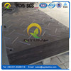 Anti-slip textured HDPE panel plastic grass protection mat or ground protection mat