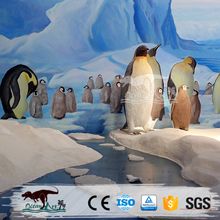 OA1697 Outdoor Large Animal Sculpture live penguins for sale