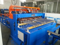 1.5m fence panel welding machine ,warp wire use hand, sevor motor pull mesh