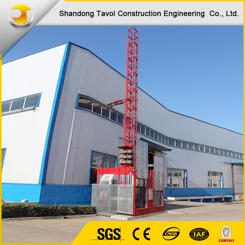 Construction Hoist Elevator SC200/200 2ton Construction Site Machines