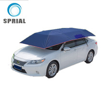 Semi-automatic Car sunclose Folding umbrella pocket size umbrella with plastic cover frigo beach umbrella