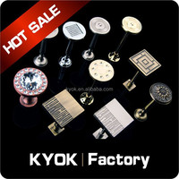KYOK Hotel project decoration Curtain rod accessories , curtain hook,luxurious curtain tiebacks hooks