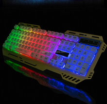 2016 USB 104 keys backlit mechanical Keyboard with LED RGB factory price keyboard Computer gaming keyboard