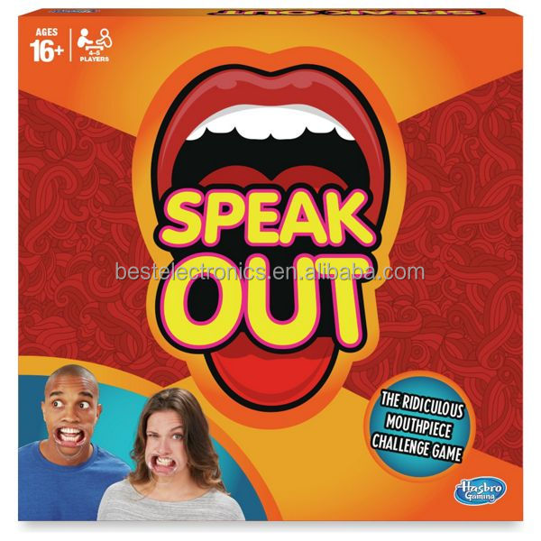 Speak Out Game Mouth Challenge Interesting Game Family Party Game