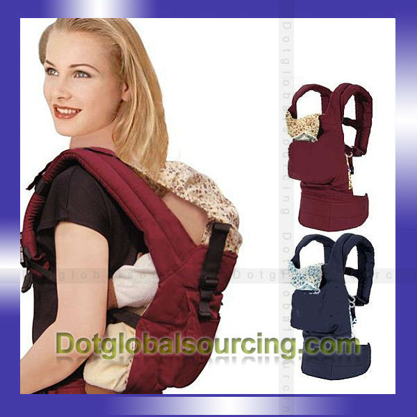 Wholesale Sling Stretch Wrap Baby Carrier Soft Cushion Infant Backup Comfort Cotton Pouch Newborn Kid Wrap Rider Backpack