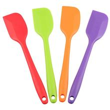 Hot Sales 28cm Large Size Silicone Spatula with Steel Stick Inserted