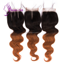 T1B/30 lace closure cheap price Body wave lace closure instock virgin Brazilian human hair Extensions 7A best quality on sale