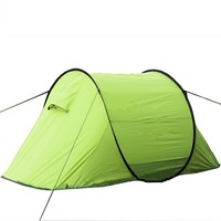 Boat shape pop up folding camping tent for 1-2 persons