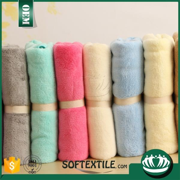 yarn dyed soft face towel