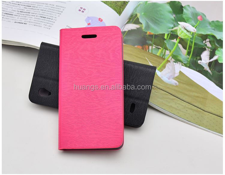 Mobile accessories cell phone case with card slot and stand leather phone case for vivo y11 made in china
