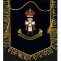 Hand Embroidery Bullion Fine Wire Flags, Cushions & Banners