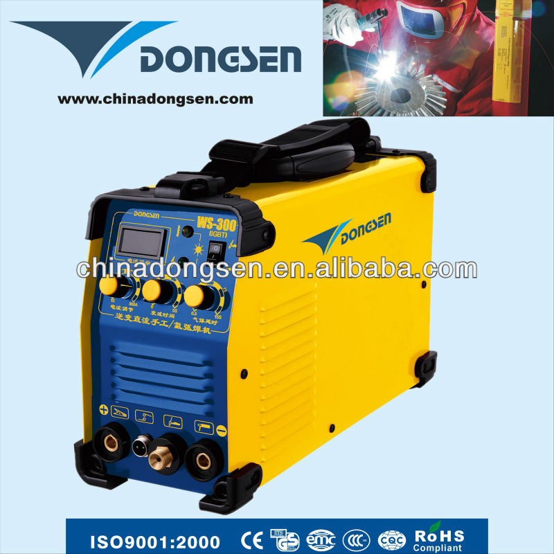 high quality TIG/MMA-250 IGBT 1phase 250Amps Inverter welding machine