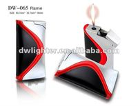 DW-065 metal refillable flame gas lighter