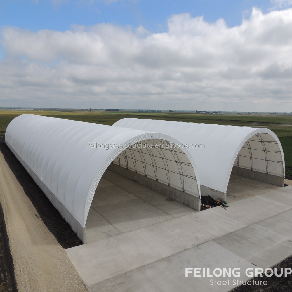 High quality used fabric structures and steel structure hanger