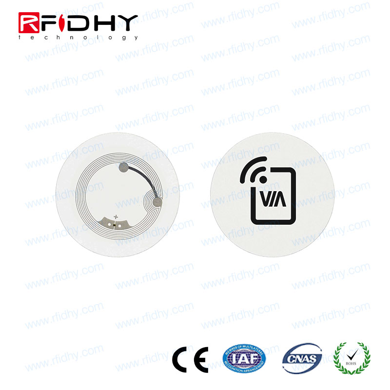 For identification verification rewritable ISO14443A NFC anti-metal tag,13.56 mhz anti-metal hf rfid nfc tag/