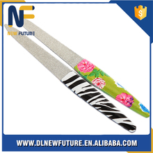 2016 Custom Printing stainless steel Finger Nail File