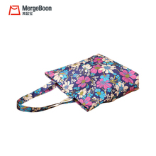 Promotional Oxford folding printing reusable supermarket shopping tote bag for women handbags