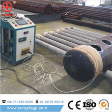 Portable steel pipe/tube annealing electric magnetic induction heating machine