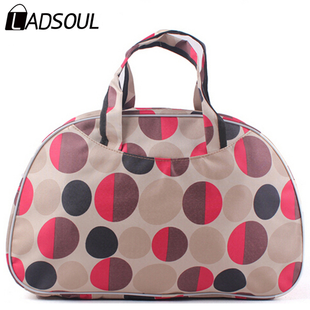 2015 New Women Handbag Travel Bag Fashion Waterproof Oxford Women Colorful Travel Bag Large Hand Canvas Luggage Bags HL6422