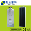 architectural design die cast aluminium housing good heat dissipation system led solar street light