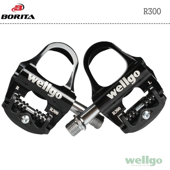 Wellgo Colorful High Performance Clipless Pedal for Road Bike