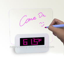 Nice Led message board alarm clock
