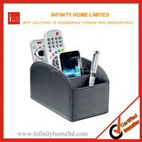 Newest Rotating Promotional Leather TV Remote Control Holders