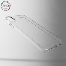 2017 hot selling accessories case phone waterproof transparent tpu case cover for iphone 8