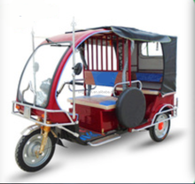 taxi ce certified electric battery powered three wheel passenger tricycle
