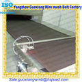 Metal flat stainless steel chain conveyor belt mesh