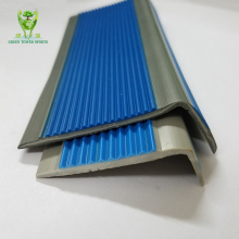 Hot sale kindergarten PVC plastic stair nosing edging for tile steps