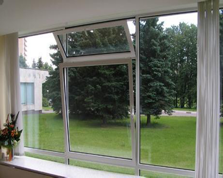 China manufacturer aluminium clad wood tilt and turn window of CE ISO9001 standard