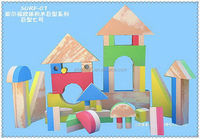 Design useful diy stick building blocks toy
