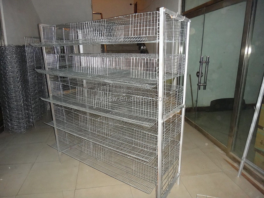 6 Tiers Layer Quail Cages For Sale