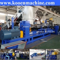 waste plastic pellet recycling machine line