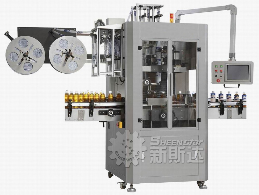 Automatic PET / Plastic / Water Bottle Shrink Sleeve Label packing Equipment