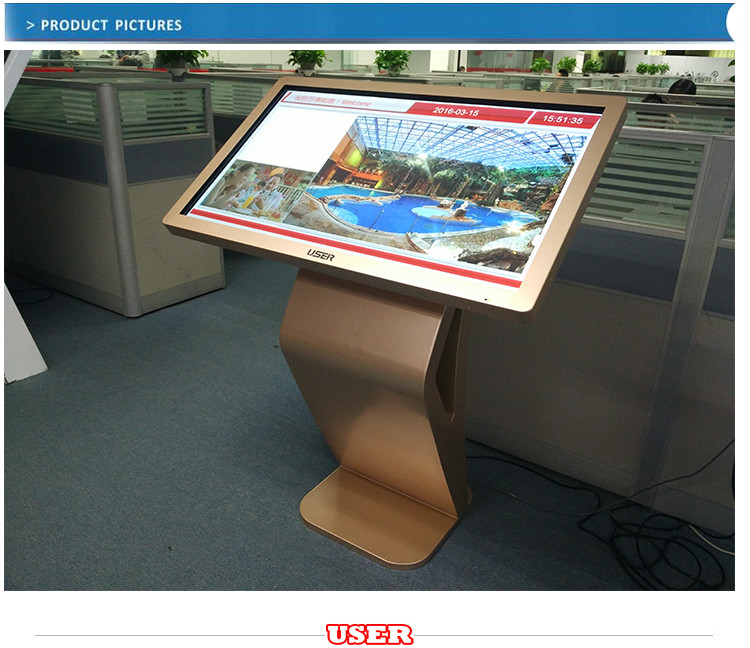 42 Inch Interactive Commercial Touch Screen Advertising kiosk