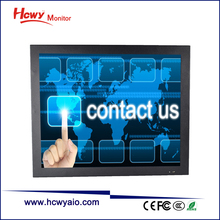 Embedded Capacitive/Infrared/Resistive Touch Screen 10 inch Open Frame Monitor For Cabinet/Kiosk/Vending Machine