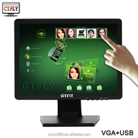 USB 5-wire Resistive Touchscreen Monitor CT170D1 Analog RGB