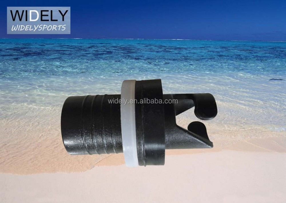 Nozzle valve adaptor as the inflatable boat accessories
